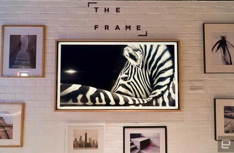 samsung 4K frame smart tv