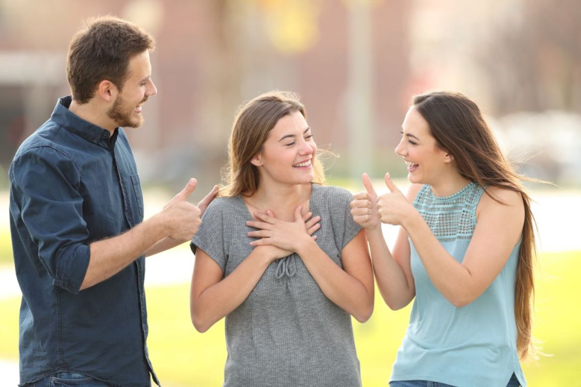 Berikan Pujian body positivity untuk orang lain