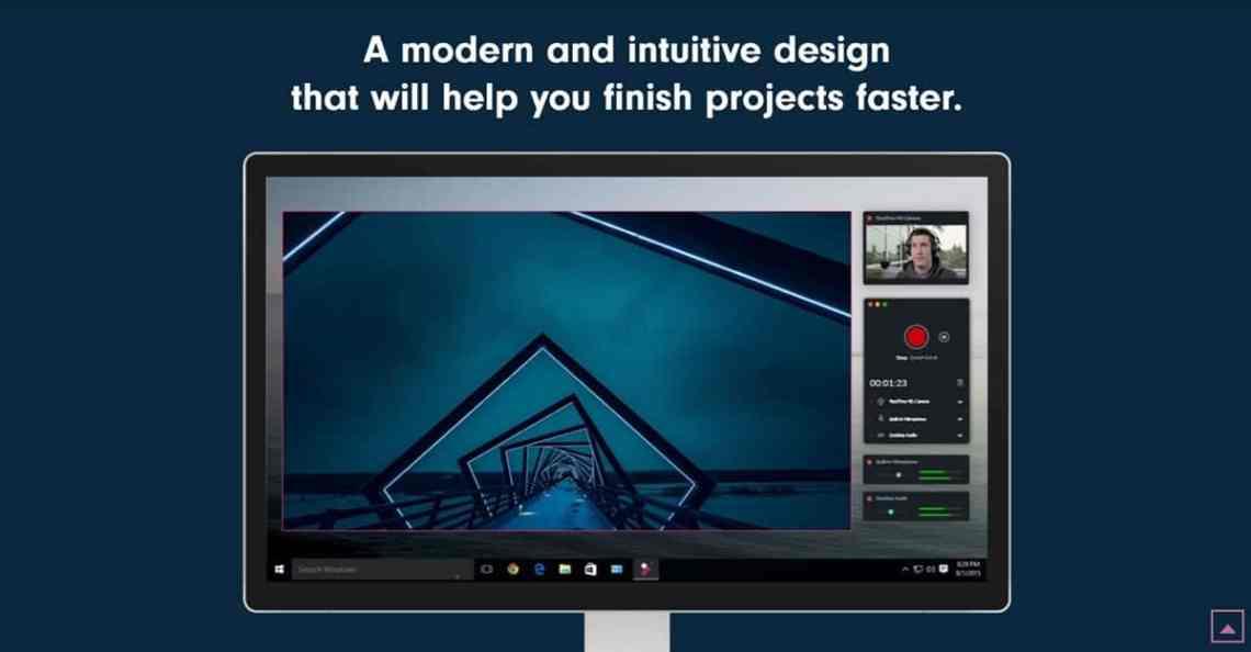 Filmora Scrn aplikasi perekam layar laptop