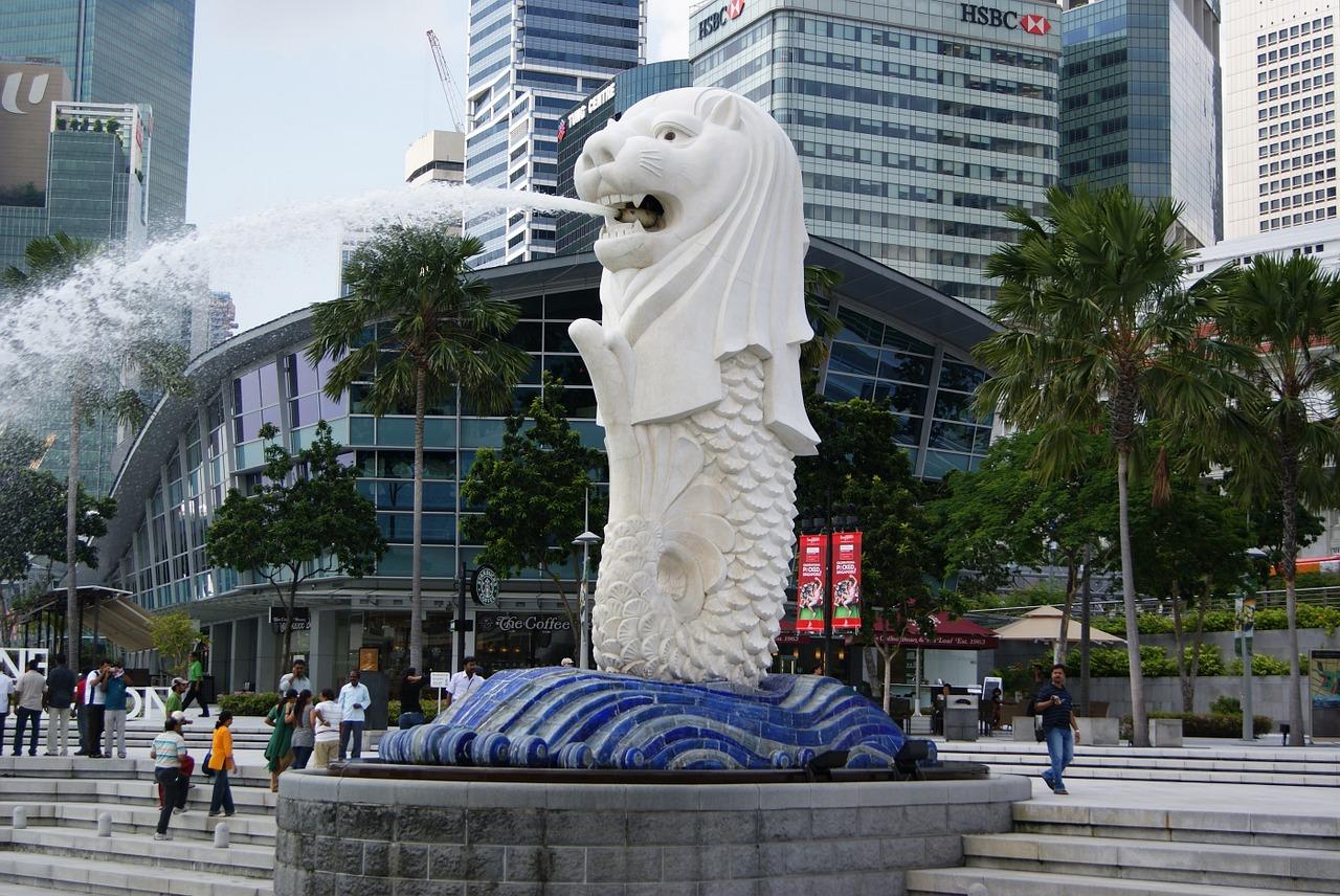 Patung-Merlion-Singapura