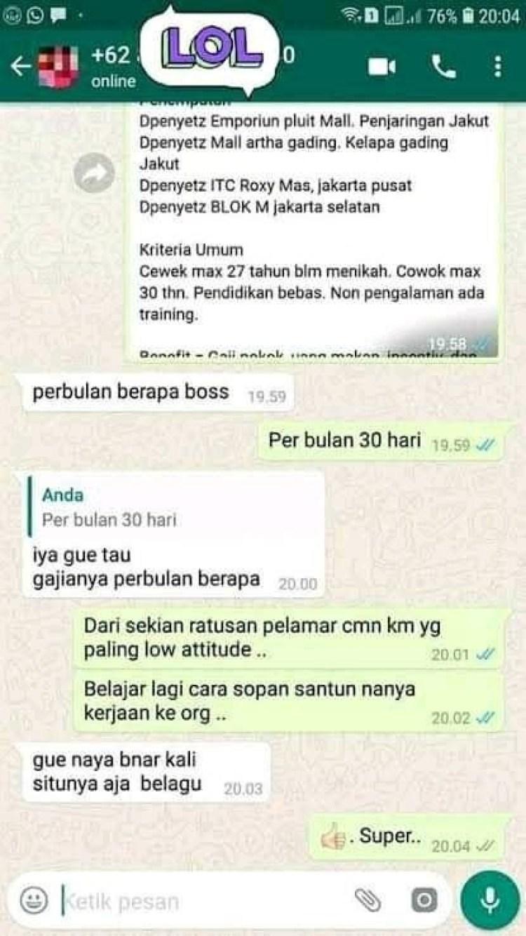 chat-pekerja