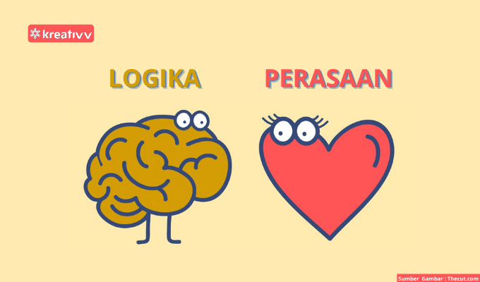 Logika atau Perasaan