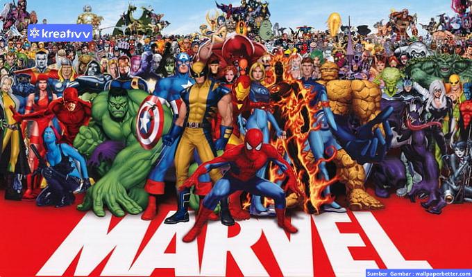 Penggemar Marvel Comic