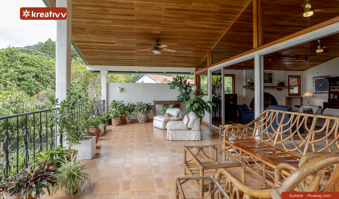 rekomendasi desain teras rumah