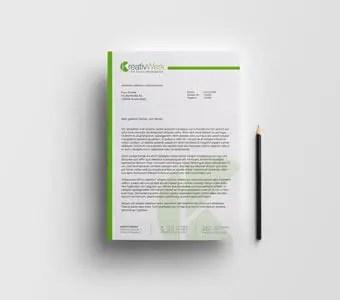 Briefpapier für Unternehmen Corporate Design