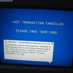 By the end of 2004, 70 percent of all new ATMs shipped worldwide were Windows-based, according to Lockheed's Rick Doten