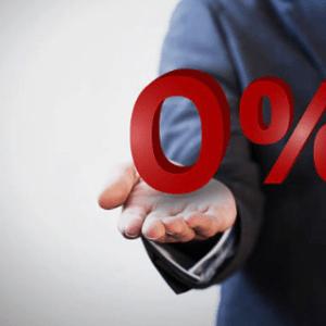 Знак 0%