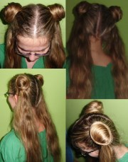 sailor moon hairstyle crafty