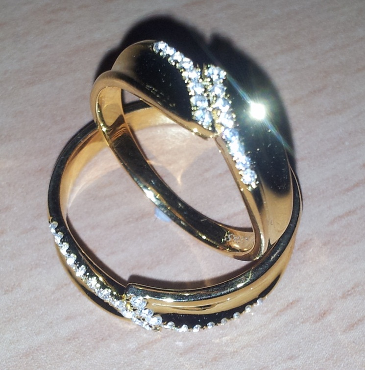 Couples Wedding Rings Set