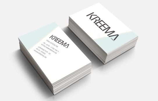 Kreema Visitenkarten