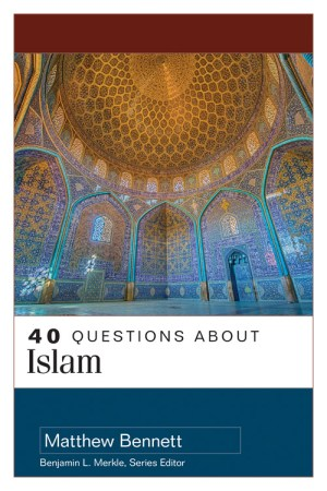 cover image of the book 40 Questions about Islam