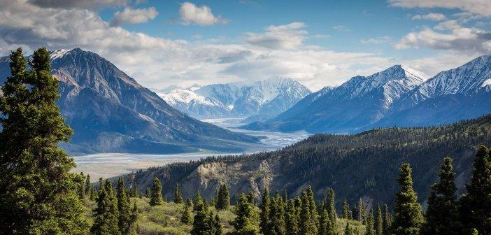 photo of beautiful mountain range