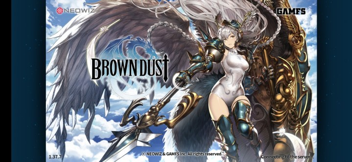 Brown Dust title screen