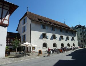 Lucerne history museum building and cafeteria