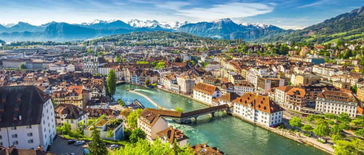 Old city of lucerne