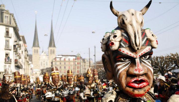Lucerne carnival parade