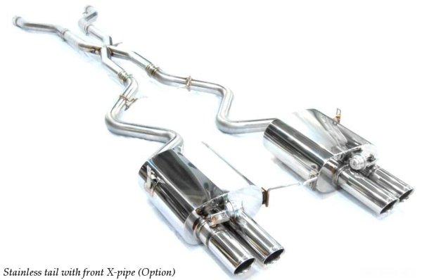 クライスジーク [BMW E90 M3 マフラー] キャタバック F1サウンド バルブトロニック エキゾーストシステム
