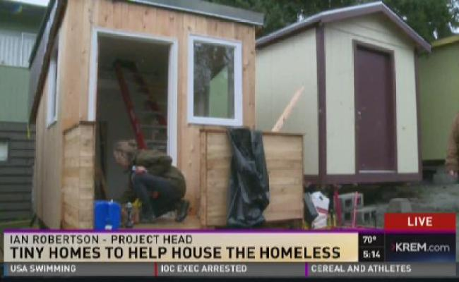Tiny Homes In Spokane Valley Could Help Alleviate