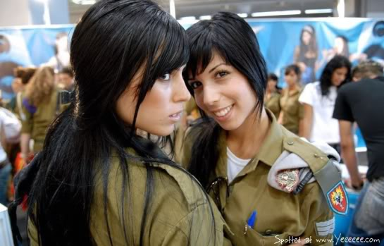 IsraelArmyBeauties