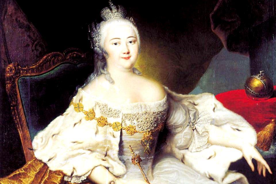 Utangazaji wa Mfalme Elizabeth Petrovna  Empress Elizaveta