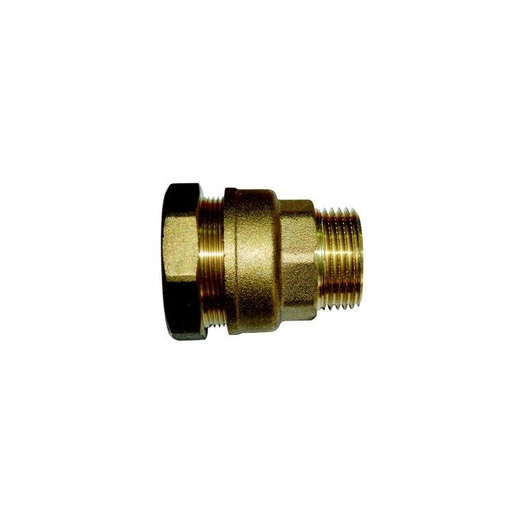 raccord serrage exterieur male 20x27 pour tuyau polyethylene o25 boutte