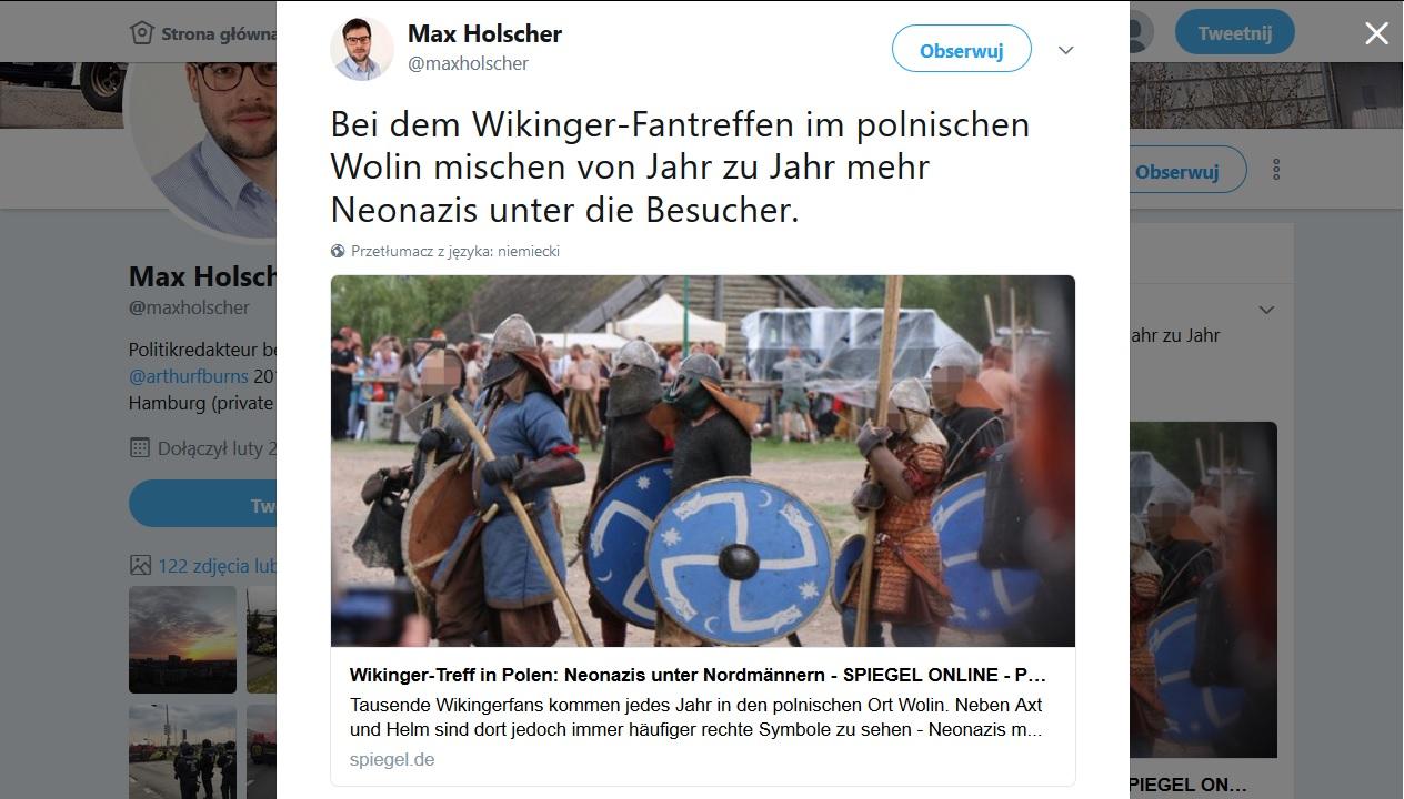 Słowiański festyn zjazdem neonazistów