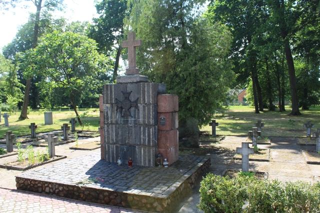 Cmentaż wojskowy w Kobryniu