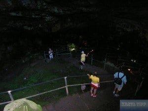 Zugang zur Psychros-Höhle