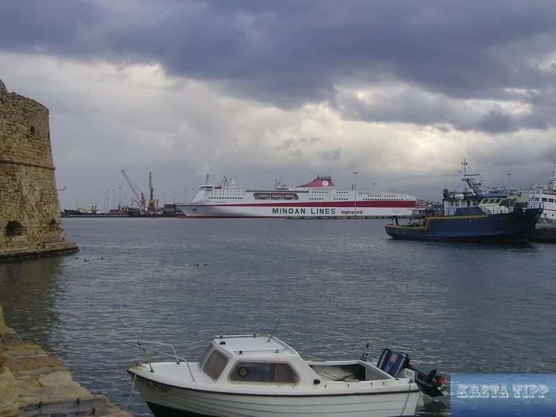 Hafen von Iraklion
