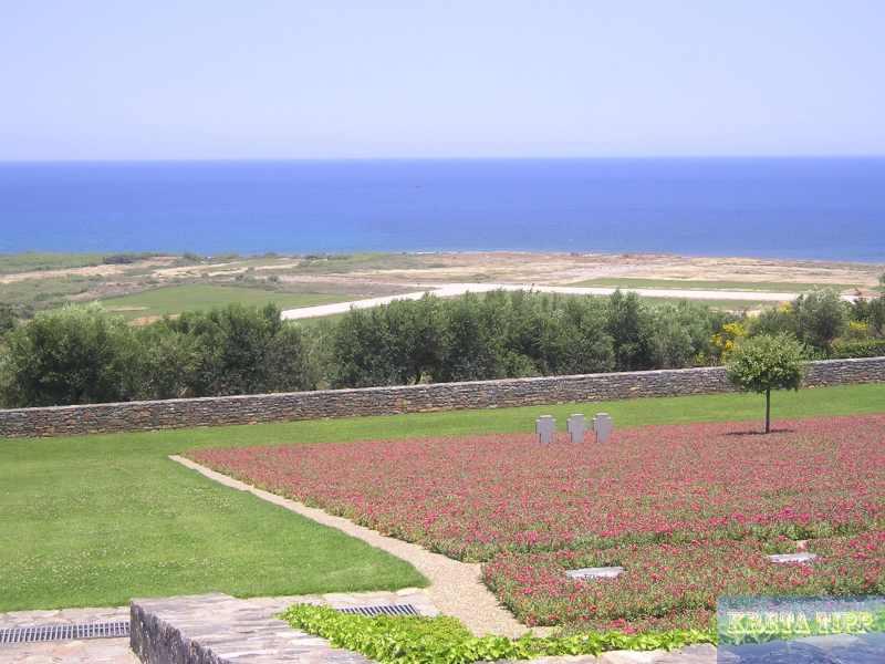 Soldatenfriedhof in Maleme