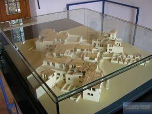 Modell Häuser altes Malia