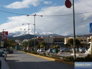 Ausfallstrasse aus Agios Nikolaos nach Kritsa