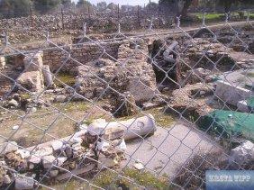 Das Ruinenfeld von Gortis.