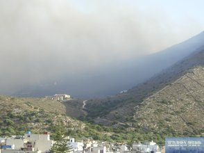 Brände in Elounda