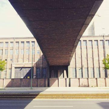 The stunning architecture of the Kraftwerk Klingenberg.