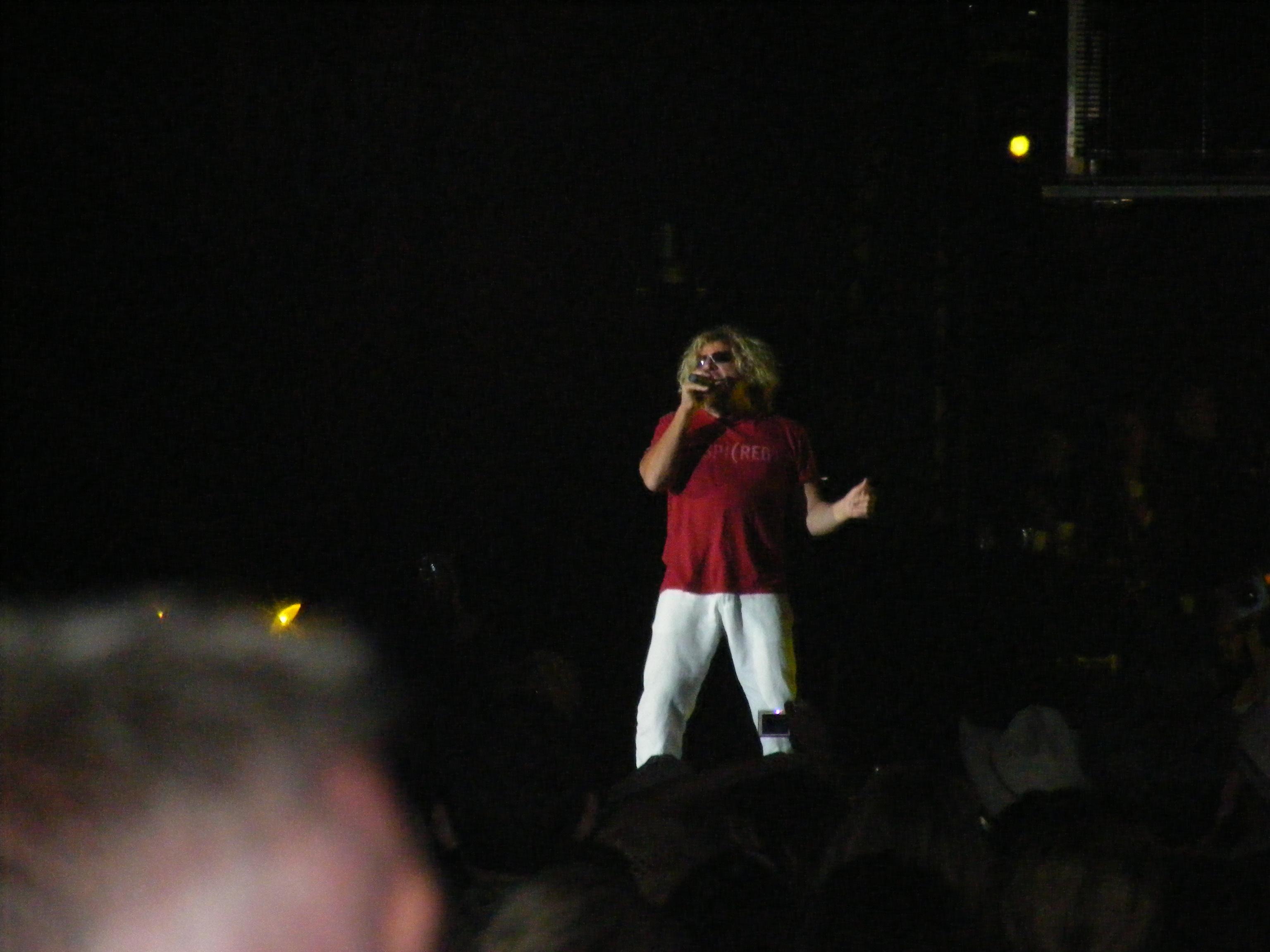 The Red Rocker Sammy Hagar!