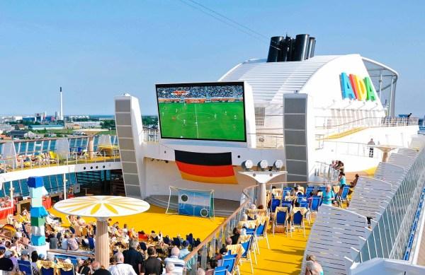 AIDA Cruises Public Viewing UEFA EM 2016