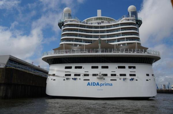AIDAprima auf den Hamburg Cruise Days 2017