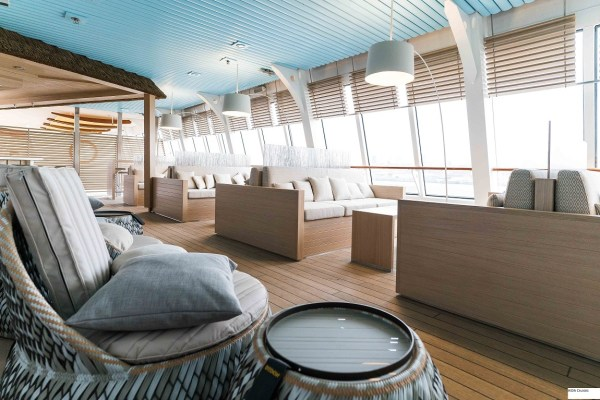 AIDA Cruises AIDAvita Beach Lounge 2017
