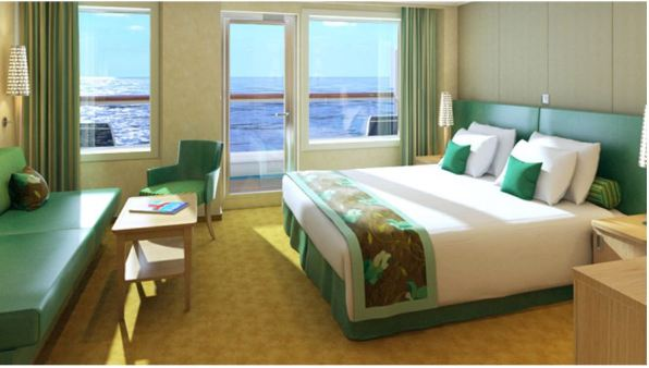 Carnival Cruise Line Carnival Horizon Cloud 9 Spa Suite