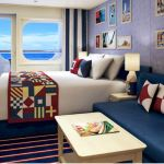 Carnival Cruise Line Carnival Horizon Familien Balkonkabine