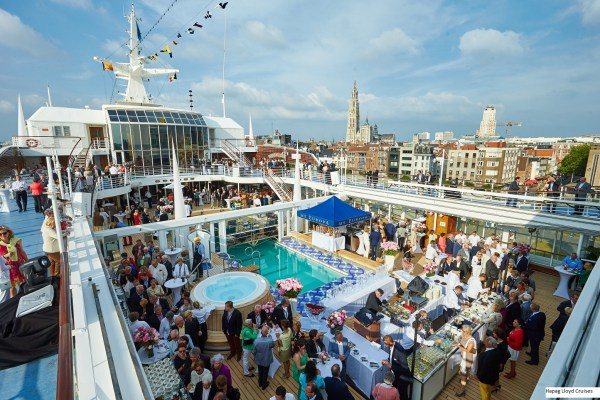 Hapag-Lloyd Cruises Hapag-LLoyd Kreuzfahrten, MS EUROPA, Antwerpen, 14.06.2015, EUROPAS Beste 2015