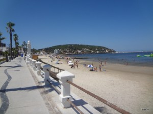Uruguay erleben Kreuzfahrt Uruguay Rambla in Piriapolis