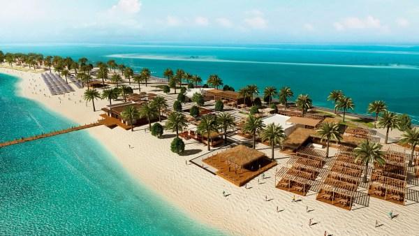 MSC Privat Insel Sir Bani Yas Island Oasis