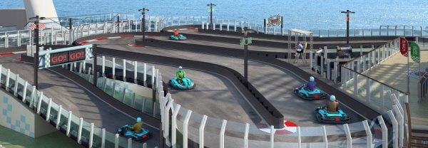 Norwegian Cruise Line NCL Joy Kart Kreuzfahrt