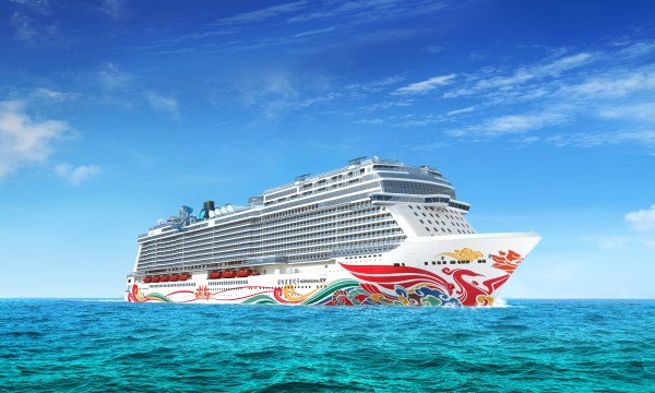 Norwegian Cruise Line Rumpfbemalung der Norwegian Joy