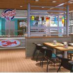 Carnival Cruise Line Carnival Horizon Seadfood restaurant