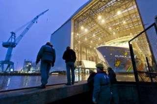 """, Meyer Werft: Feuer mit entsprechender Rauchbildung auf neuer """"Quantum of the Seas"""""""
