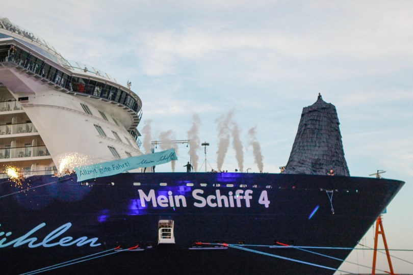 TUI Cruises Naming Ceremony of its New Ship 'Mein Schiff 4'