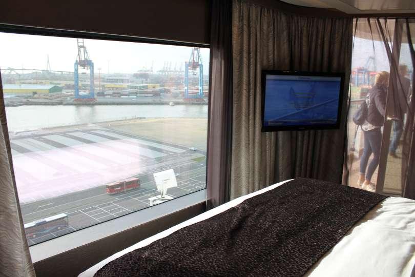 Meerblick im Bett, Norwegian Escape